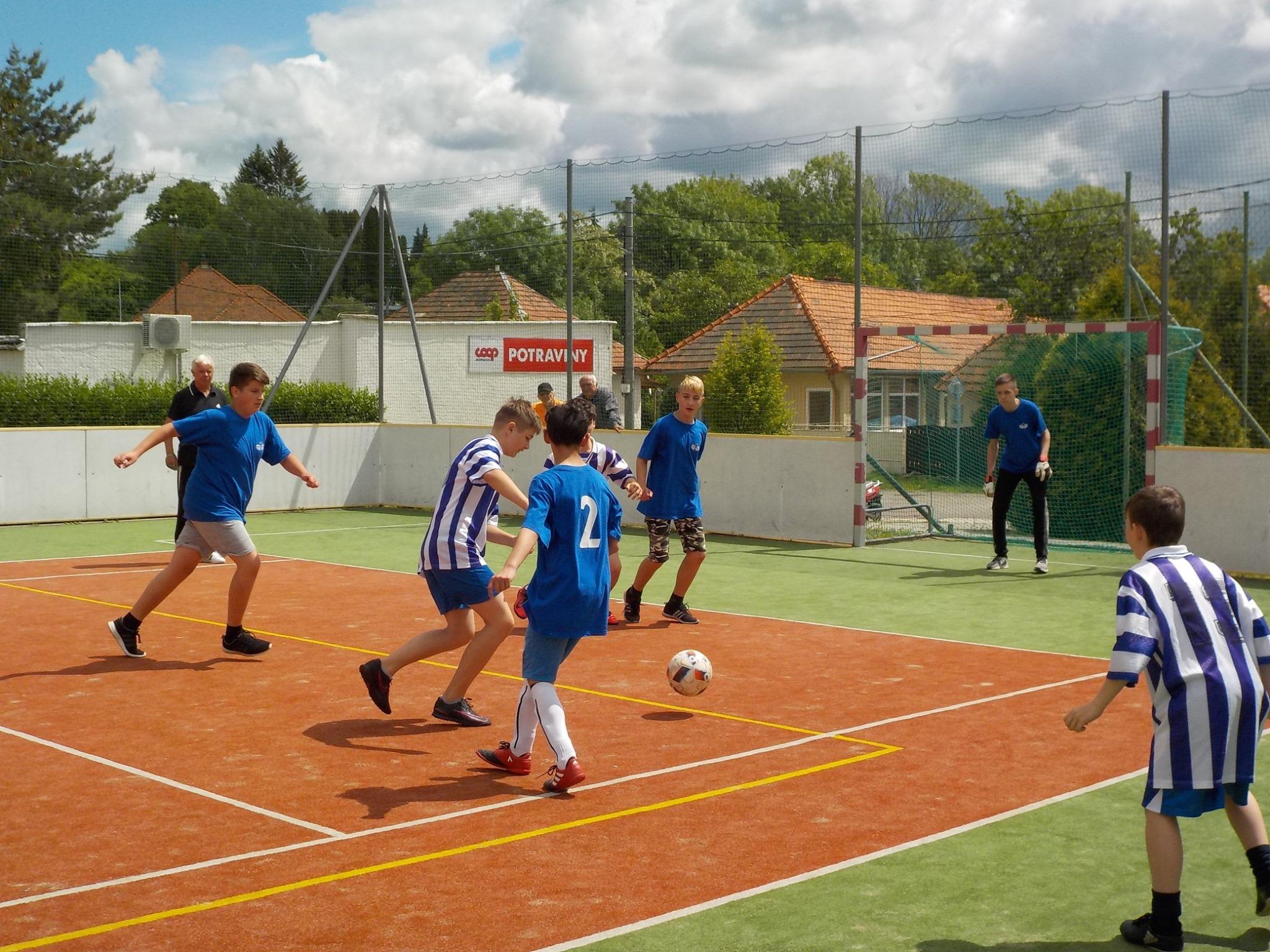 Futbalový turnaj v Tekovských Nemciach