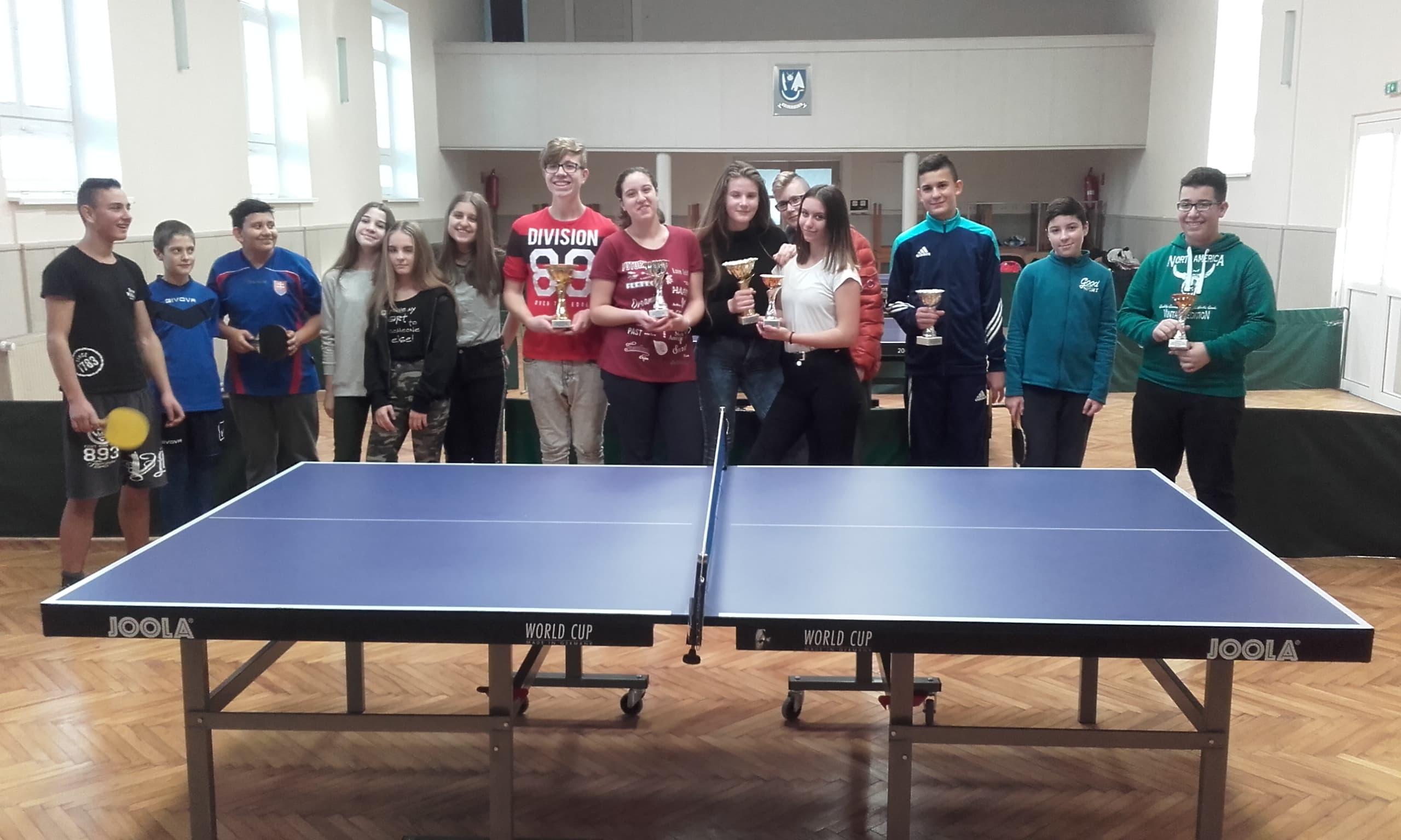 Stolnotenisový turnaj vo Volkovciach